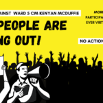 115 People Protest Kenyan McDuffie