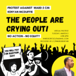 Ward 5 Cries Out: No Action is No Equity!